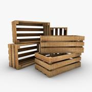 木箱子 3d model
