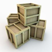 木箱02 3d model
