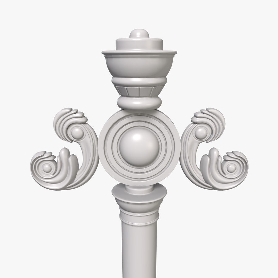Staff royalty-free 3d model - Preview no. 4