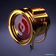 Lampe für Model T 3d model