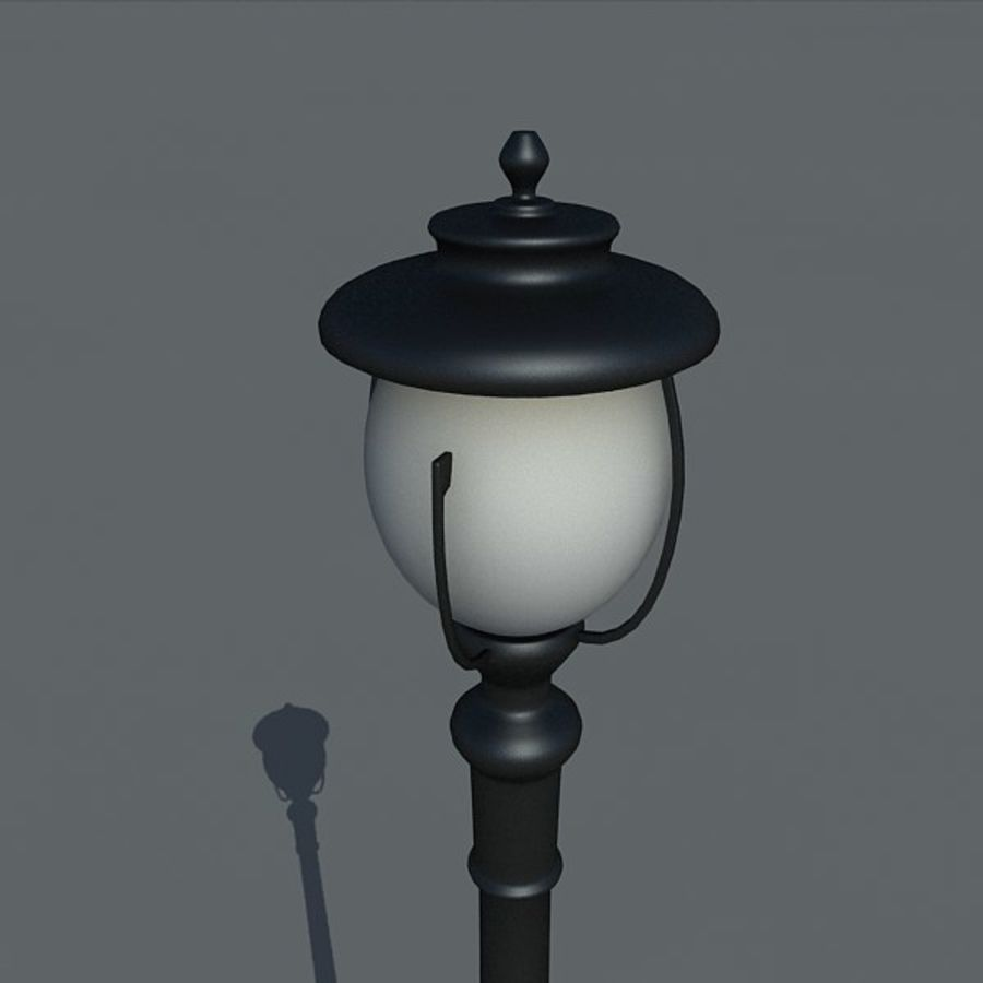 Parkera ljus royalty-free 3d model - Preview no. 3