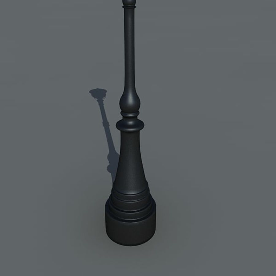 Parkera ljus royalty-free 3d model - Preview no. 5