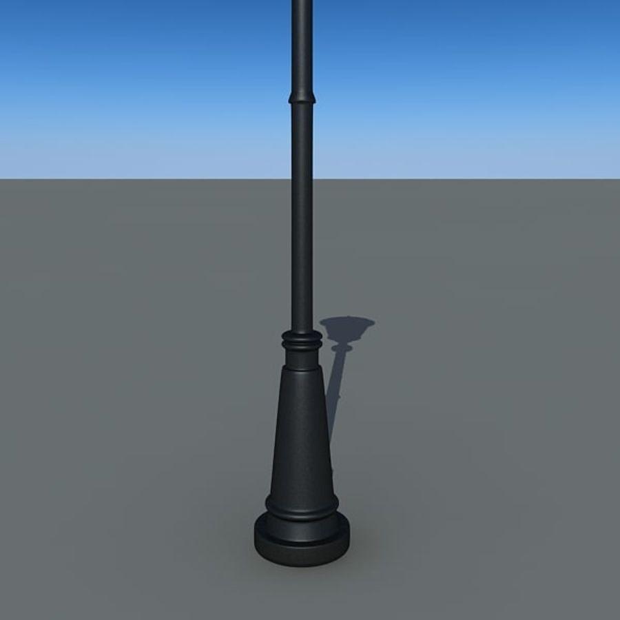 Parkera ljus royalty-free 3d model - Preview no. 5