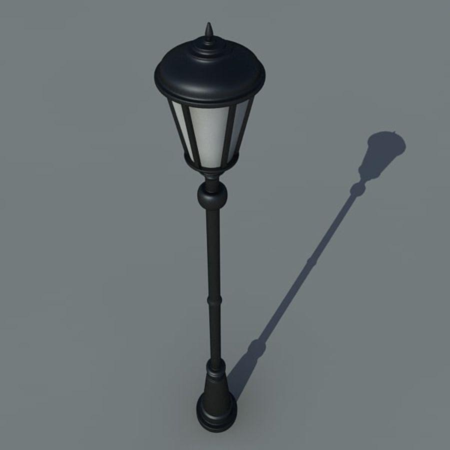Parkera ljus royalty-free 3d model - Preview no. 4