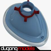 Маска для анестезии 3d model