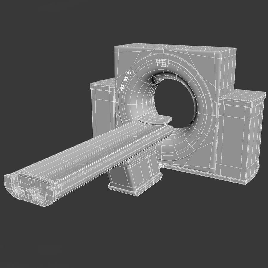 CT-scanner royalty-free 3d model - Preview no. 9