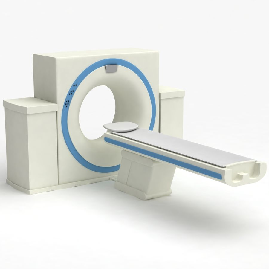 CT-scanner royalty-free 3d model - Preview no. 4