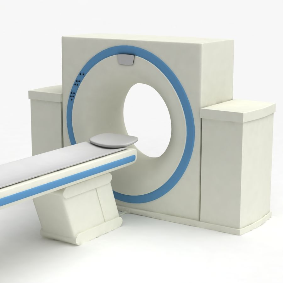 CT-scanner royalty-free 3d model - Preview no. 3