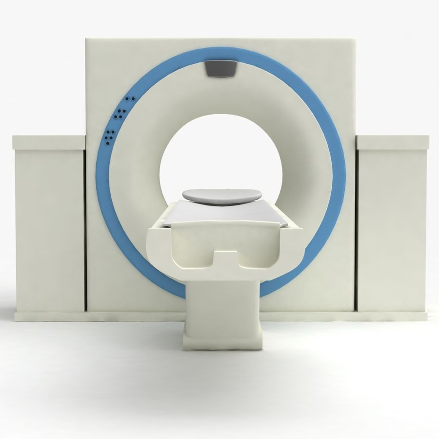 CT-scanner royalty-free 3d model - Preview no. 5