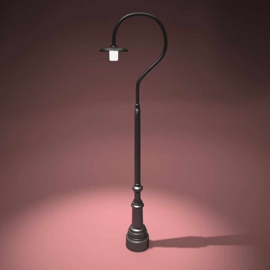Park Light royalty-free 3d model - Preview no. 1