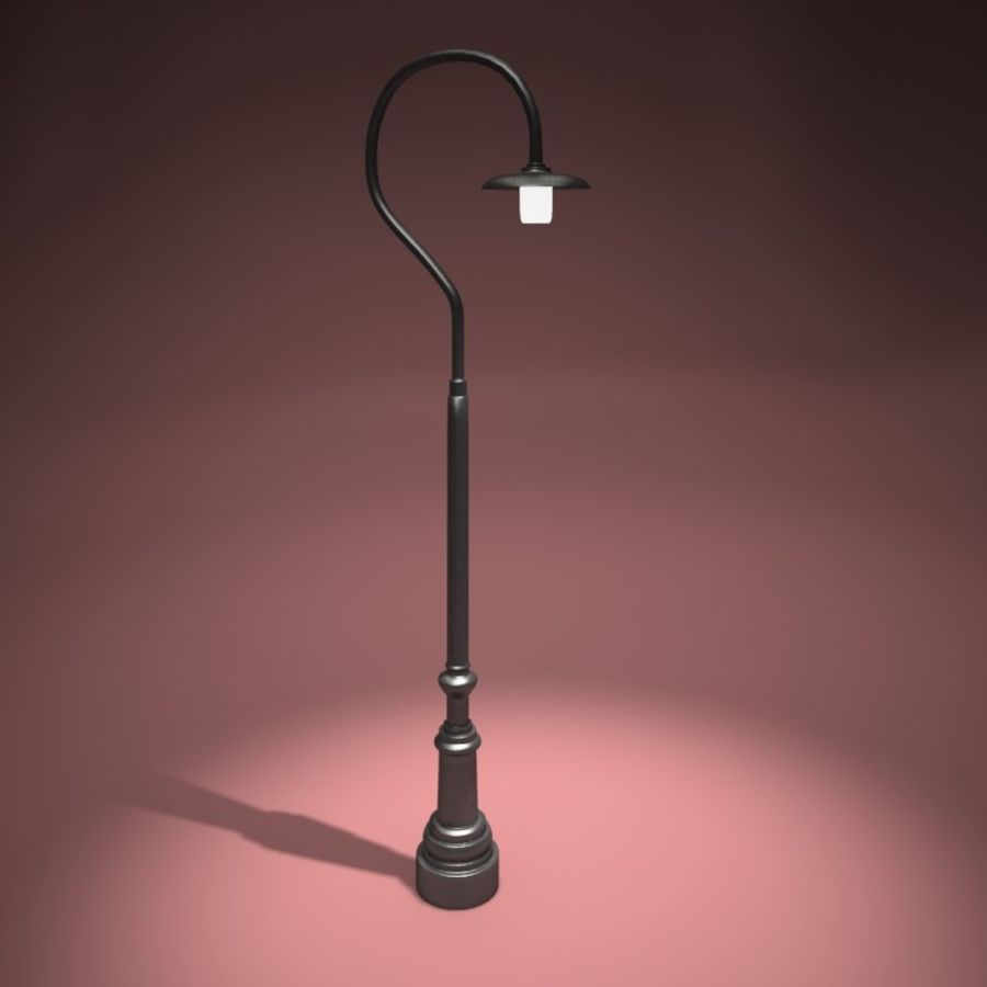 Park Light royalty-free 3d model - Preview no. 3