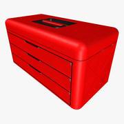 Grundlegender Werkzeugkasten 3d model