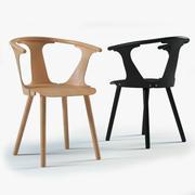 Pomiędzy krzesłem 3d model