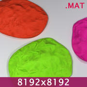 Materiał PlayDoh Clay 8192x 3d model