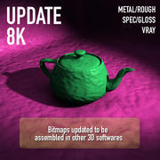 PlayDoh Clay 8192xマテリアル 3d model