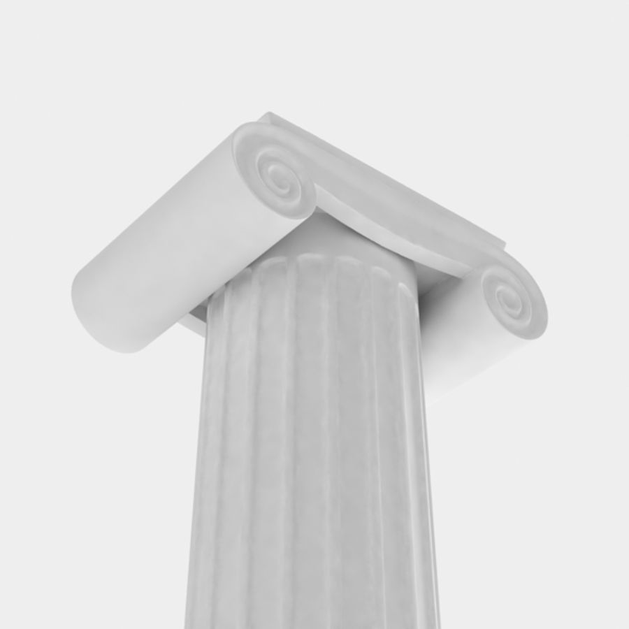 Column greek ancient royalty-free 3d model - Preview no. 5
