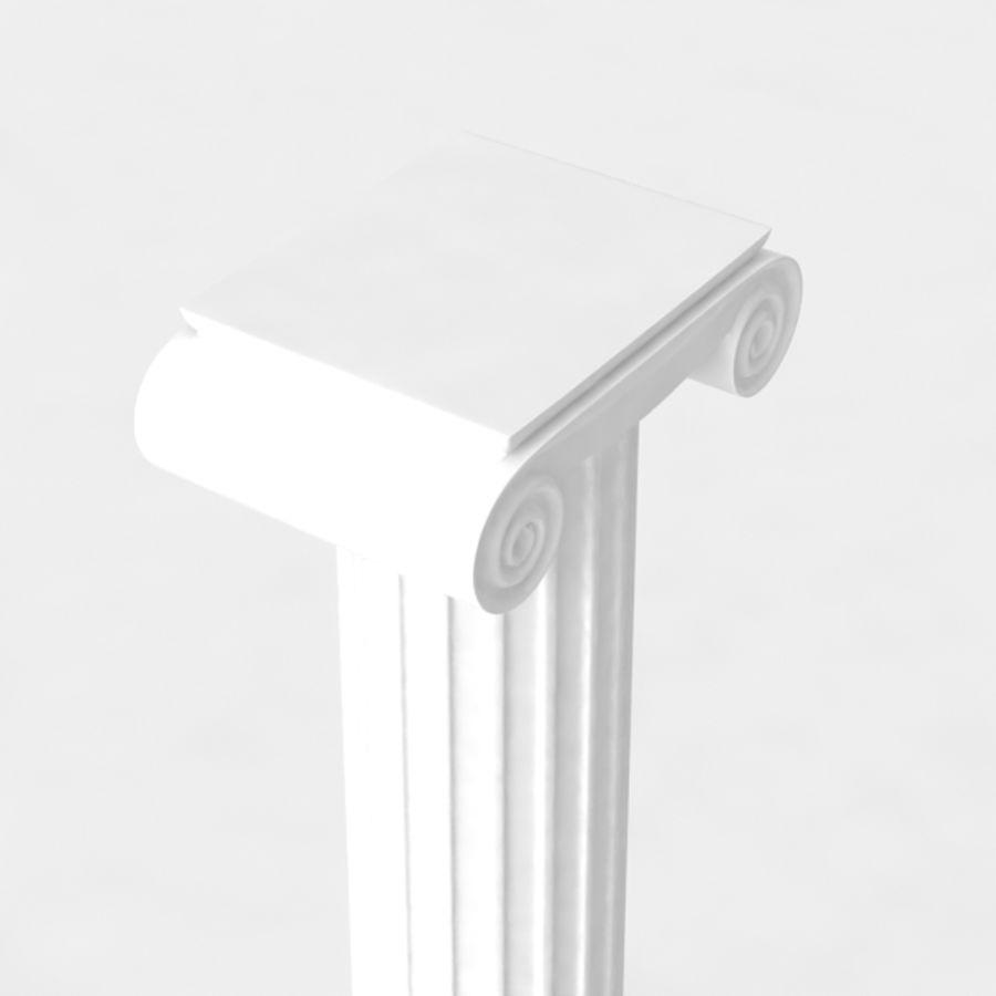 Column greek ancient royalty-free 3d model - Preview no. 4