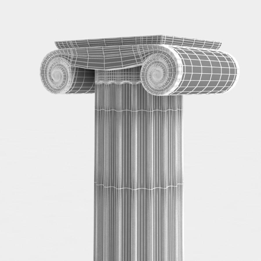Column greek ancient royalty-free 3d model - Preview no. 10