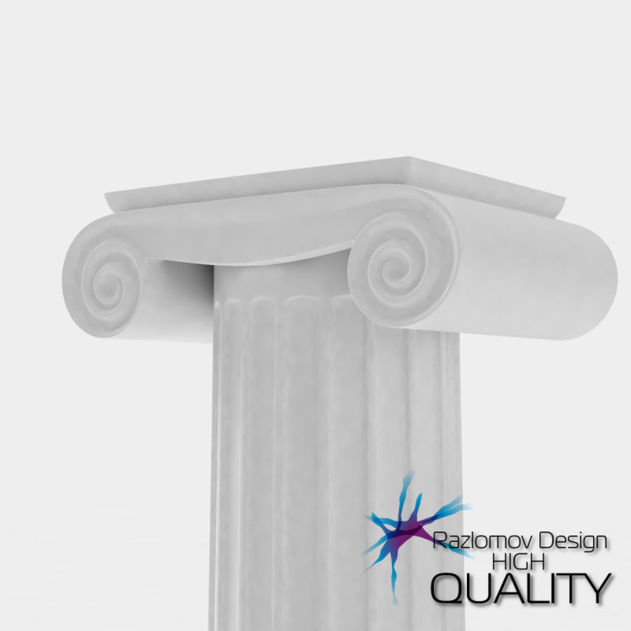 Column greek ancient royalty-free 3d model - Preview no. 1