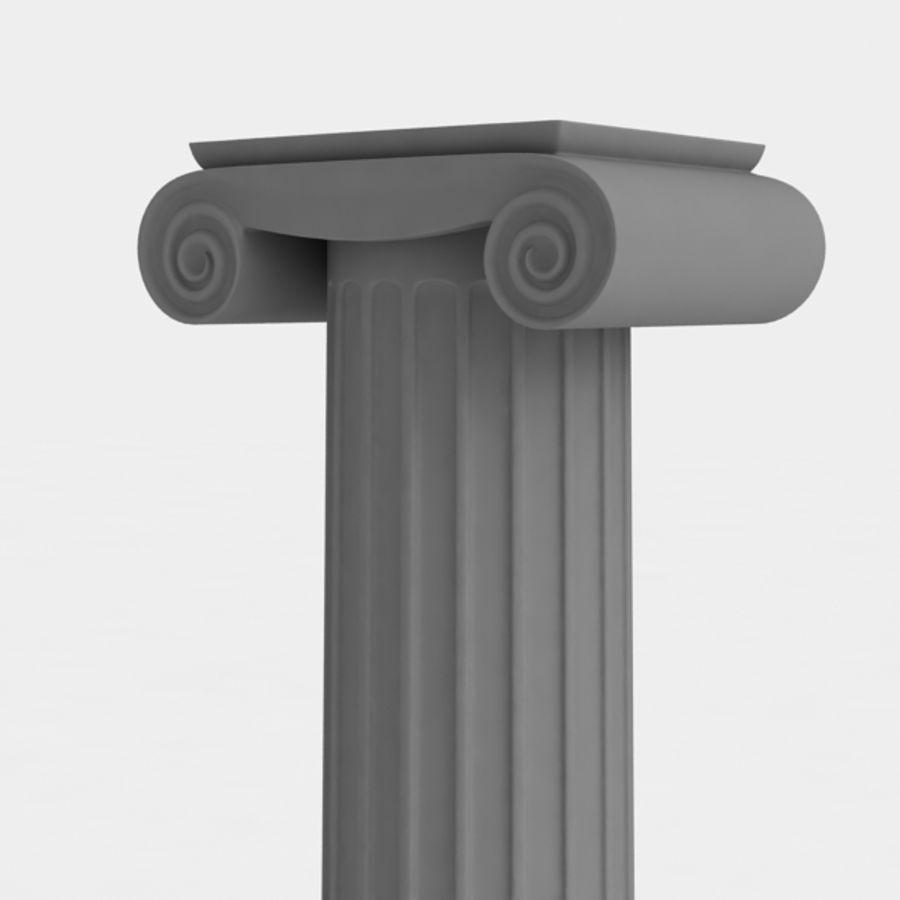 Column greek ancient royalty-free 3d model - Preview no. 9
