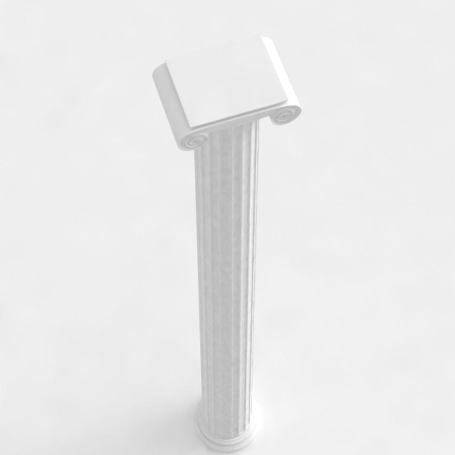 Column greek ancient royalty-free 3d model - Preview no. 8