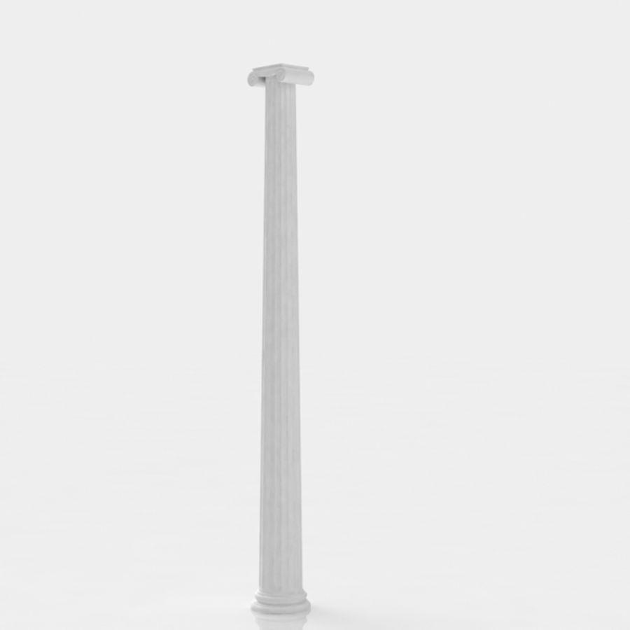 Column greek ancient royalty-free 3d model - Preview no. 6
