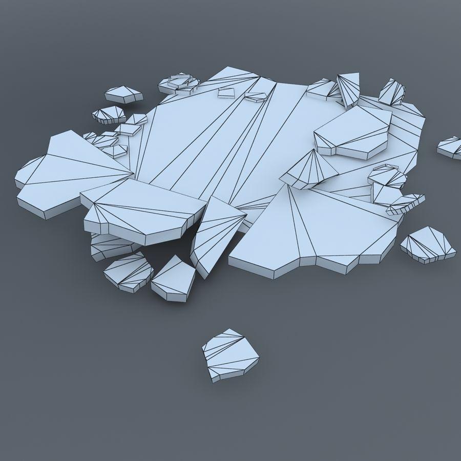 Concrete Rubble Pile royalty-free 3d model - Preview no. 5