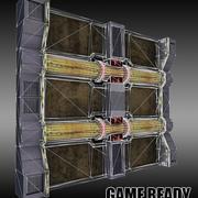 Pronto per il gioco a parete modulare 3d model