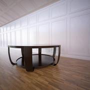 Mesa redonda de exibição 3d model