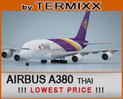 Airbus A380 Thai 3d model