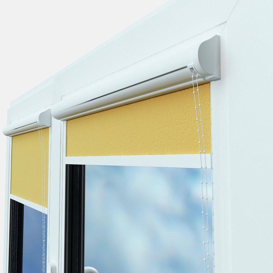 panjurlu pencere kapağı royalty-free 3d model - Preview no. 3