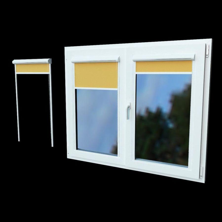panjurlu pencere kapağı royalty-free 3d model - Preview no. 1