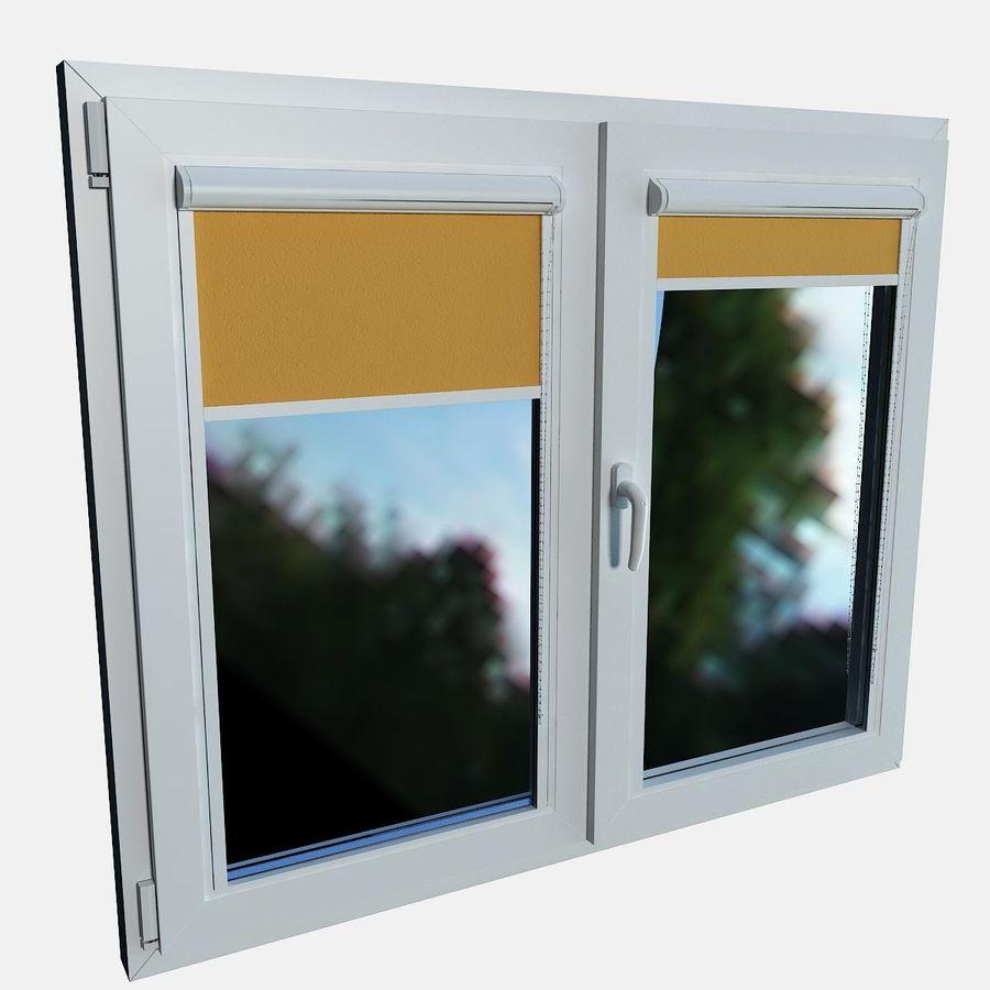 panjurlu pencere kapağı royalty-free 3d model - Preview no. 8