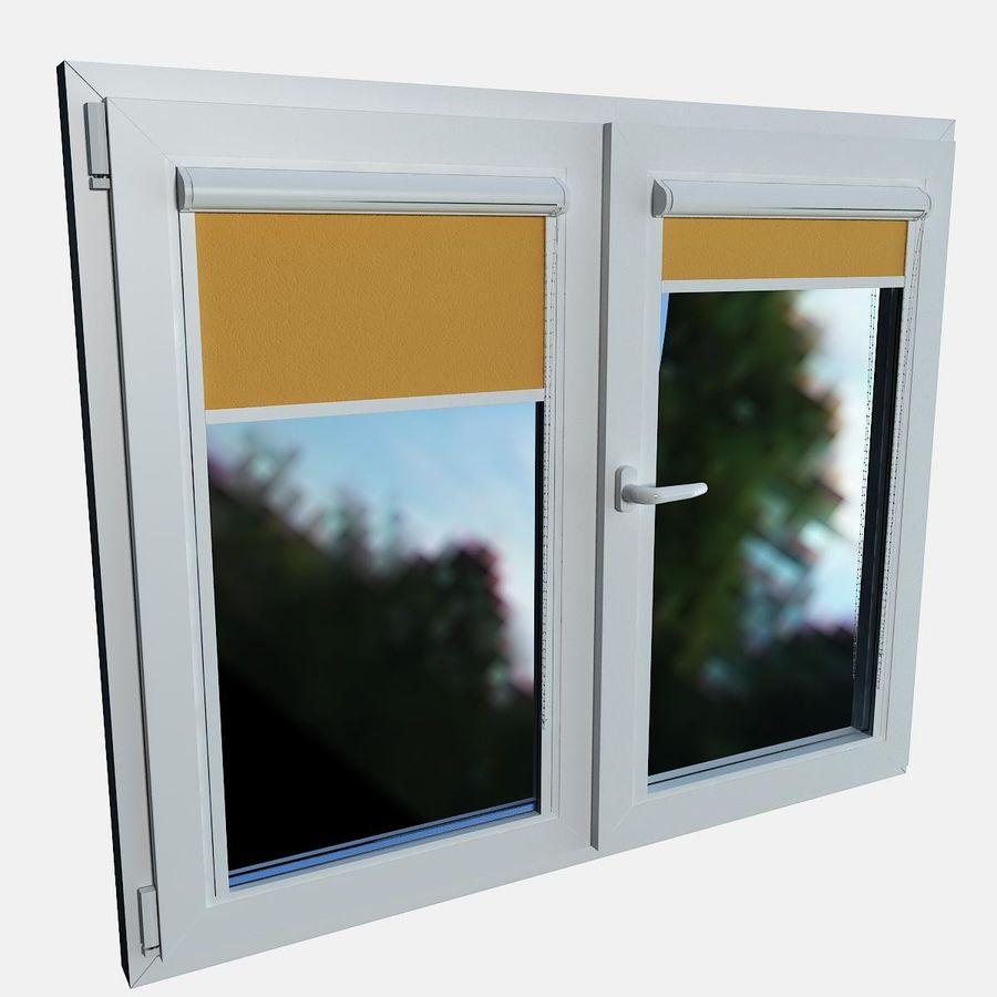 panjurlu pencere kapağı royalty-free 3d model - Preview no. 9