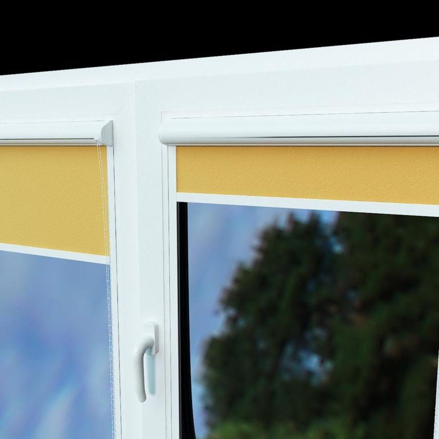 panjurlu pencere kapağı royalty-free 3d model - Preview no. 2
