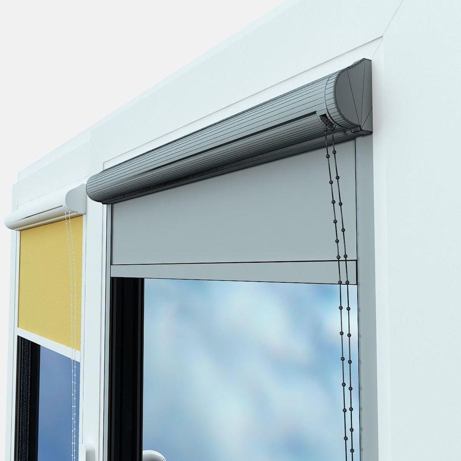panjurlu pencere kapağı royalty-free 3d model - Preview no. 4
