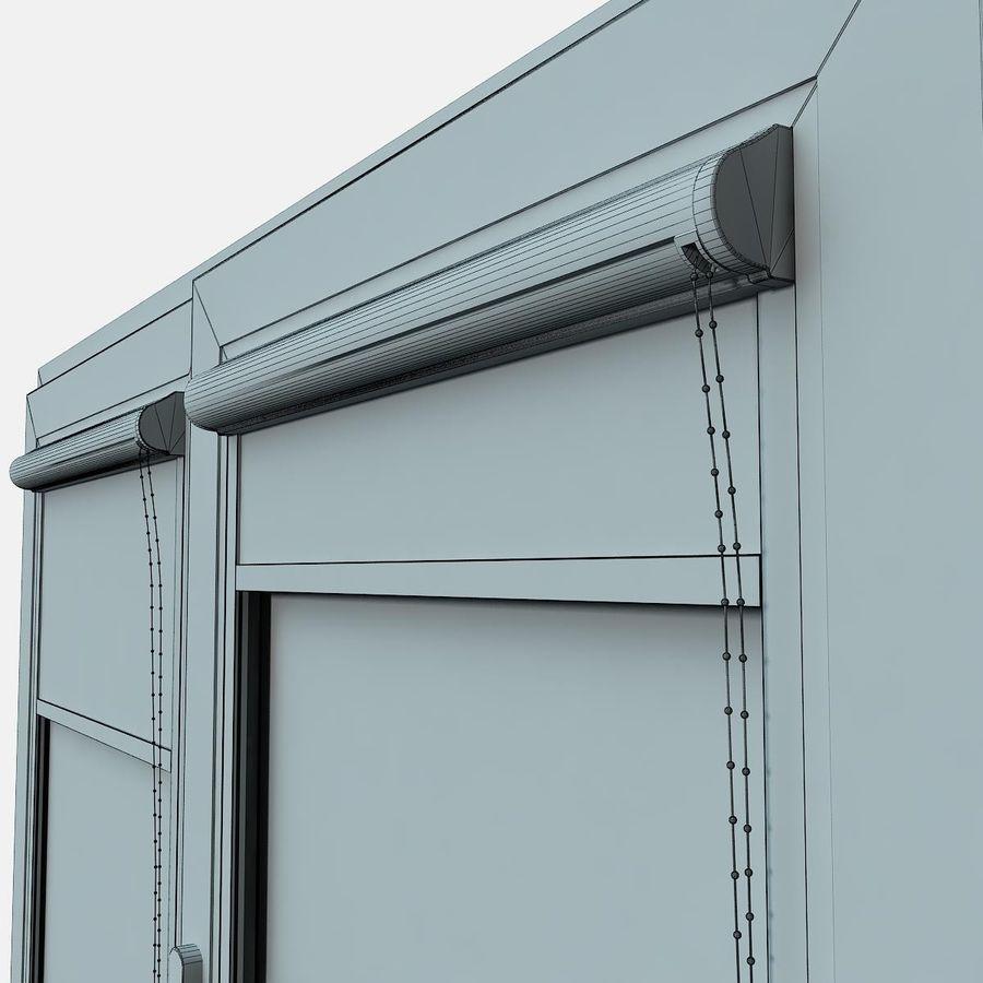 panjurlu pencere kapağı royalty-free 3d model - Preview no. 5