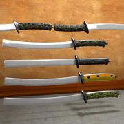 Sword Staff Military Saber 3d model