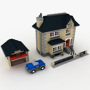 Villa Lego House 4954 3d model