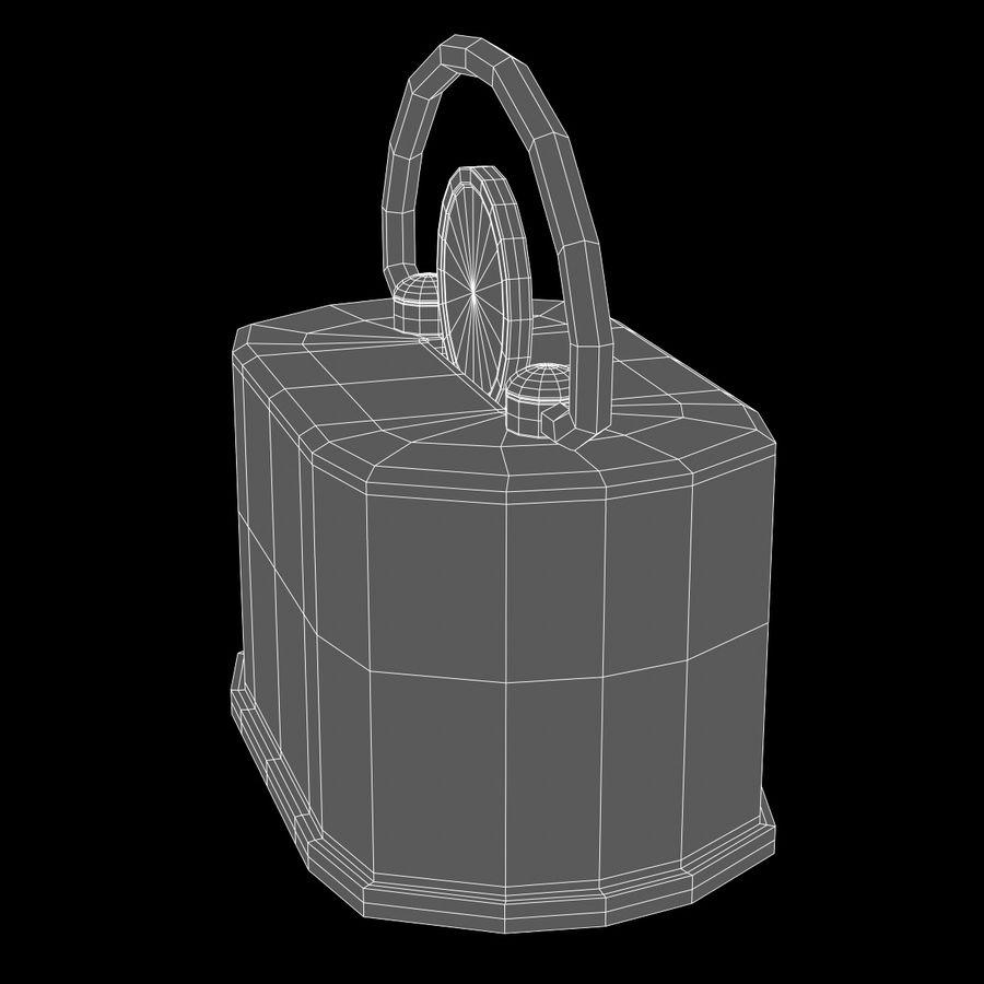 Skarbonka royalty-free 3d model - Preview no. 5