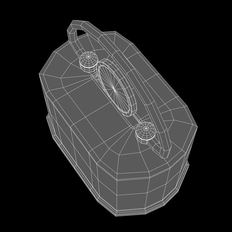 Skarbonka royalty-free 3d model - Preview no. 4