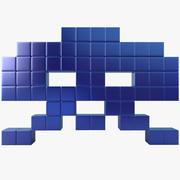 Space Invader İki 3d model