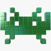 Space Invader Four 3d model