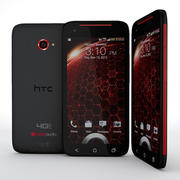 HTC Droid DNA Smartphone 3d model