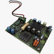 Scheda di circuito 3d model