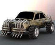 Carmageddon monster car 120L 3d model