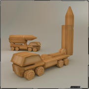 Camion jouet 3d model