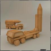 Zabawkowa ciężarówka 3d model