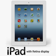 Новый iPad 2012 3d model
