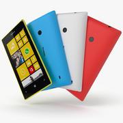 Nokia lumia 520 3d model